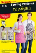 1140 Simplicity Pattern: Aprons in Four Styles